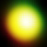 Abstrakter Bereichlichthintergrund Stockbild