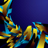 Abstrakter Bewegungshintergrund. Stockfoto