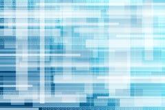 Abstrakter binärer Hintergrund Stockfotografie