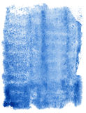 Abstrakter blauer Aquarellhintergrund Lizenzfreies Stockfoto