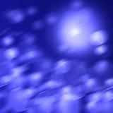 Abstrakter blauer Farbenhintergrund Lizenzfreies Stockbild