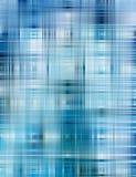 Abstrakter blauer Formhintergrund stock abbildung