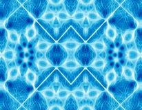 Abstrakter blauer geometrischer Hintergrund Lizenzfreies Stockbild