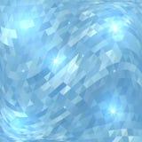 Abstrakter blauer geometrischer Schablonenhintergrund des Vektors vektor abbildung