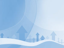 Abstrakter blauer Geschäfts-Hintergrund vektor abbildung