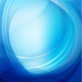 Abstrakter blauer gewellter Wasserhintergrund des Vektors vektor abbildung