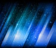 Abstrakter blauer glänzender Hintergrund Lizenzfreie Stockfotos
