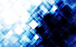 Abstrakter blauer grunge Hintergrund Auch im corel abgehobenen Betrag Lizenzfreie Stockfotografie