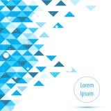 Abstrakter blauer High-Techer Hintergrund APP des Vektors Lizenzfreies Stockbild