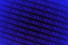 Abstrakter blauer Hintergrund Lizenzfreies Stockbild