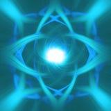 Abstrakter blauer Hintergrund Stockfotografie