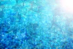 Abstrakter blauer Hintergrund Stockfoto