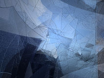Abstrakter blauer Hintergrund Stockfotos
