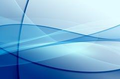 Abstrakter blauer Hintergrund, digitale Beschaffenheit Stockbild