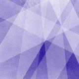 Abstrakter blauer Hintergrund mit geometrischen überlagerten Rechtecken Lizenzfreie Stockfotografie