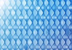 Abstrakter blauer Hintergrund mit Glanz und glatter Skala Vektorfliesenmuster vektor abbildung