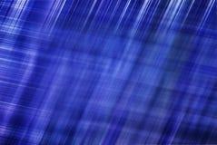 Abstrakter blauer Hintergrund mit unscharfen Zeilen Lizenzfreies Stockbild