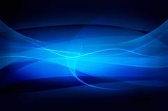Abstrakter blauer Hintergrund, Schleierbeschaffenheit Lizenzfreies Stockbild