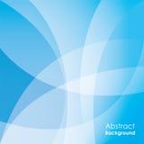 Abstrakter blauer Hintergrund, Vektor Lizenzfreie Stockfotos