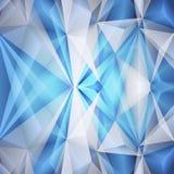 Abstrakter blauer Hintergrund. Vektor Lizenzfreies Stockbild