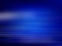 Abstrakter blauer Hintergrund von Lichtern in den abstrakten Formen Lizenzfreie Stockfotografie