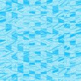 Abstrakter blauer Hintergrundplan der modernen Kunst für Design Stockfotografie