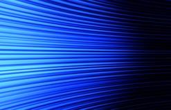 Abstrakter blauer kurvender Hintergrund Stockfotografie