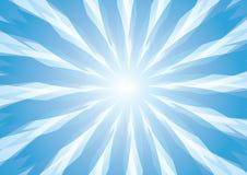 Abstrakter blauer moderner Formhintergrund Lizenzfreie Stockfotografie