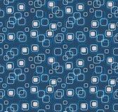 Abstrakter blauer nahtloser Hintergrund Stockbilder