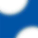 Abstrakter blauer Punkt-Hintergrund lizenzfreie abbildung