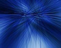 Abstrakter blauer radialhintergrund Lizenzfreie Stockfotos