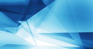 Abstrakter blauer sauberer Hintergrund mit copyspace Lizenzfreies Stockbild