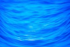 Abstrakter blauer Seebeschaffenheitshintergrund Lizenzfreies Stockbild