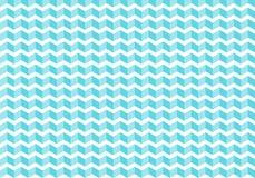 Abstrakter blauer Sparren deckt Muster auf weißem Hintergrund und Beschaffenheit mit Ziegeln zickzack stock abbildung