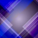 Abstrakter blauer technischer Hintergrund Lizenzfreie Abbildung