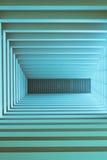 Abstrakter blauer Wandhintergrund Lizenzfreies Stockfoto