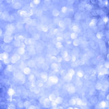 Abstrakter blauer Weihnachtshintergrund lizenzfreies stockbild
