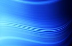 Abstrakter blauer Wellen-Hintergrund Stockbilder