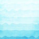 Abstrakter blauer Wellenhintergrund vektor abbildung