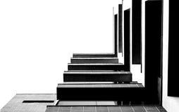 Abstrakter Blick auf das Gebäude Lizenzfreies Stockfoto