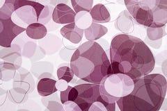 Abstrakter Blumen-Hintergrund stockfotos