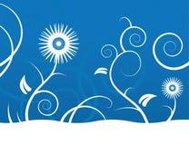 Abstrakter Blumen-Hintergrund stock abbildung