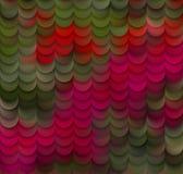 Abstrakter Blumenblatt-Vektor-Muster-Hintergrund Lizenzfreies Stockfoto