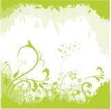 Abstrakter Blumenhintergrund Lizenzfreies Stockbild