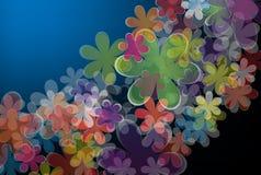 Abstrakter Blumenhintergrund Stockfoto