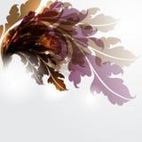 Abstrakter Blumenhintergrund Lizenzfreie Stockbilder