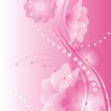 Abstrakter Blumenhintergrund. Stockfoto