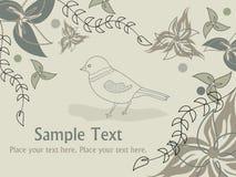 Abstrakter Blumenhintergrund Stockfotografie