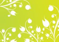 Abstrakter Blumenhintergrund. lizenzfreie abbildung