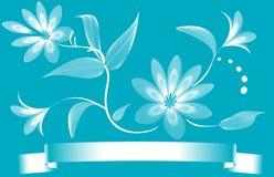 Abstrakter Blumenhintergrund Lizenzfreie Stockfotos